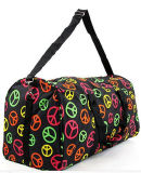 Leisure Colorful Printing Weekend Travel Duffel Bags
