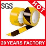 黄色く黒いラインPVC警告テープ(YST-FT-002)