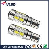 Indicatore luminoso eccellente dell'automobile della lampadina T10 W5w 5630 multicolori Canbus LED del LED