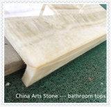 Marbre en bois de granit d'Onxy pour le dessus de vanité de salle de bains