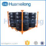 Cremalheira material do pneu de carro do metal da alta qualidade