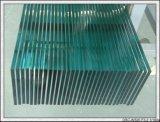 el vidrio Tempered claro de 4m m con los orificios/pulió la pantalla del borde/de seda/la insignia