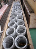 Nahtloses umwickelndes Flosse-Aluminiumgefäß für Wärmetauscher