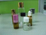 Parfum du tube de bouteille en verre avec bouchon en plastique (LG003)