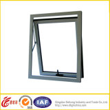 Guichet fixe en aluminium moderne du profil UPVC/Aluminum