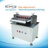 Halbautomatische aufschlitzende Maschine für die Li-Ionbatterie, die Maschine herstellt