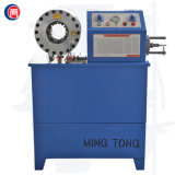 Máquina que prensa y que raspa del manguito hidráulico automático de la función multi