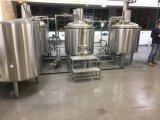 300Lパブの醸造のための赤い銅の生ビール機械