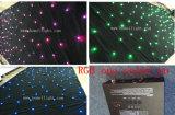 Fond illuminé par les étoiles du rideau DEL en étoile de la qualité DEL 3m*6m (personnalisée) RVB DEL avec la bonne qualité