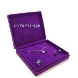Jy-Jb168 фиолетового цвета ткани картон бумага подарок украшения окно упаковки