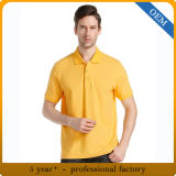 Design coton adulte Polo polo jaune