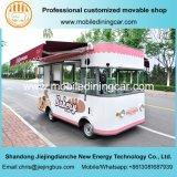 Тележка быстро-приготовленное питания колеса хорошего качества 4 электрическая и тележка хлебопекарни с Ce и SGS