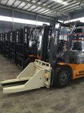 Snsc de Vorkheftruck van de Capaciteit van 3 Ton met de Klem van het Blok aan Oman
