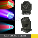 19X15W LED RGBW Bee stade de l'oeil tête mobile DJ Light