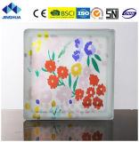 Jinghua artístico de alta calidad P-046 de la pintura de ladrillo y bloque de vidrio