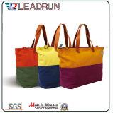 Sac à dos Sac shopping non tissé en cuir sac à main en toile de coton (X020)