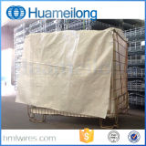 Гальванизированный складывая контейнер стального провода хранения