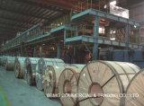 Caliente/laminó la bobina de acero galvanizada/aluminizada/del Galvalume Gi/PPGI de Dx51d para la hoja del material para techos