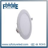 미래 둥근 표면에 의하여 거치되는 LED 천장 빛 (F-C1-12W)