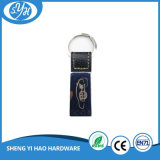 Hot Sale Customized Car Logo Keychain en cuir