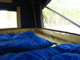 Barraca de acampamento do campista dos reboques do curso da barraca dos reboques para a venda