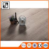 Suelo de madera ligero del PVC del azulejo del tablón del vinilo del color del roble