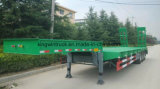 半17m中国のブランドの低いベッドのトレーラー
