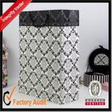 卸し売りカスタム方法美しいショッピング・バッグ、黒い紙袋