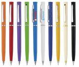 Penna di sfera promozionale, penna sottile, penna di Ballpoint di torsione, penna dell'hotel