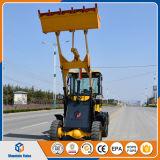 小型ローダー1トンの農場または庭のトラクターの中国の小型車輪のローダーZl10のフロント・エンドローダーの価格