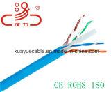 Chat 6 1000 pi 23 câble d'ordinateur de câble du câble UTP de transmission de réseau d'en cuivre/câble d'Awc/UL/Cmr/UTP/Bare