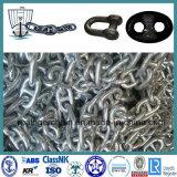 ISO1704 de mariene Ketting van het Anker van de Link van de Nagel van het Schip met Certificaat