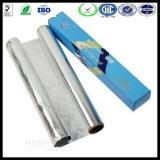 9 Mic la cocción de alimentos el papel de aluminio rollo Jumbo alimentos el papel de aluminio