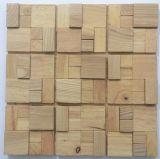Mosaico de madera de la alta calidad para la decoración de la pared