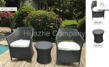 Mobília de vime do Rattan da mobília da mobília ao ar livre do jardim da HOME da tabela da cadeira da mobília do Rattan