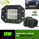 Luz campo a través del trabajo del CREE 18W 5inch LED para SUV