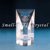 Trofeo cristalino 3D