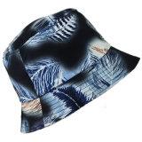 El tinte de encargo del lazo del espacio en blanco de la impresión de la hoja se divierte el sombrero del compartimiento