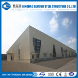 Het pre-gebouwde Pakhuis om van het Staal van het Pakhuis Klaar Gemaakte af te werpen Gemaakt in China