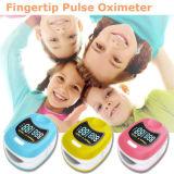 Ossimetro di impulso del bambino di OLED con la batteria di litio del tasto di Recharable