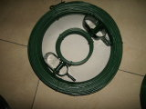 PVCによって塗られる電流を通された鉄ワイヤー