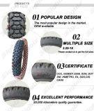 Qualität farbiger pneumatischer Roller-Gefäß-Gummireifen (4.00-8)