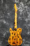 Желтого цвета приемистостей алника отделки горение тела золы гитара Guitarra все деревянного Tele электрическая красит имеющимся
