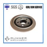 ISO9001: 2008 kundenspezifisches überziehendes Stahlteil durch CNC, der für Maschinerie maschinell bearbeitet