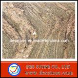Encimera de la losa del azulejo del monumento de Juparaa Colombo del granito (DES-GT033)