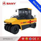 Sany Spr260-6 26ton Reifen-Rollen-pneumatische Gummigummireifen-Straßen-Rolle