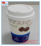 Copos de café de papel descartáveis