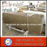 Verde de piedra natural del granito con la encimera de la cocina (DES-C013)