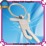 Металл Keychain для подарка ключевого кольца спортов