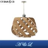 Lampada Pendant di bambù artistica per sala da pranzo